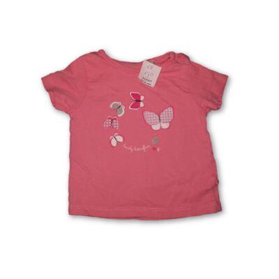 68-as rózsaszín lepkés póló - Obaibi