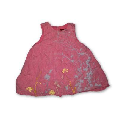 86-os rózsaszín lenes ruha - Kenzo