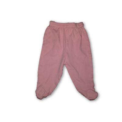 62-es rózsaszín pamut talpasnadrág