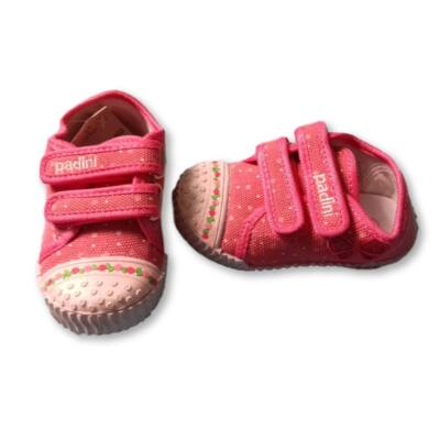 22-es pink tépőzáras vászoncipő - Padini - ÚJ