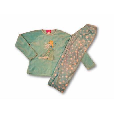 146-os türkiz szőrmés pizsama - Frozen, Jégvarázs
