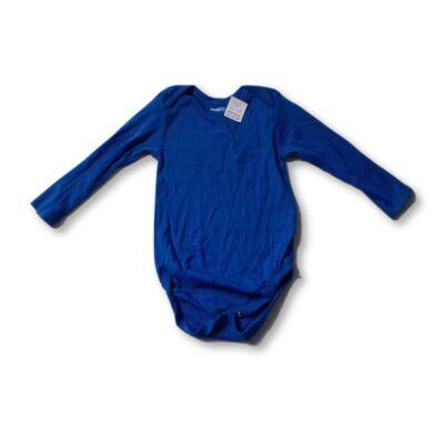 86-92-es kék hosszú ujjú body - Lupilu