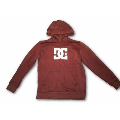 158-as bordó kapucnis pulóver - DC