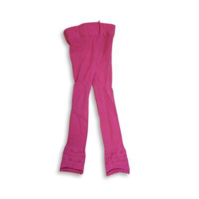 2-3 évesre rózsaszín lábfej nélküli nylon harisnya