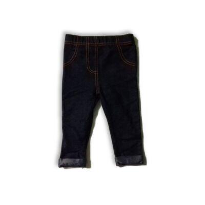 68-as kék farmer hatású leggings - TU