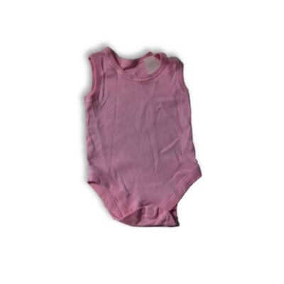 62-es rózsaszín ujjatlan body