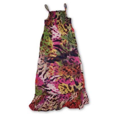 146-152-es színes mintás nyári ruha - George
