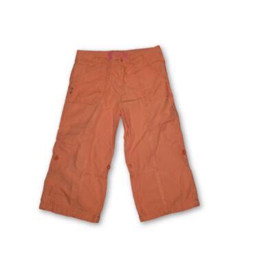 140-146-os narancssárga vászon térdnadrág lánynak - George