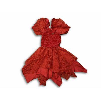 116-os piros alkalmi ruha vagy jelmez
