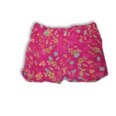110-es rózsaszín virágos short, rövidnadrág - Dopodopo