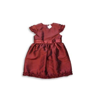 104-110-es bordó alkalmi ruha