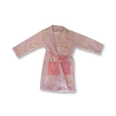 128-134-es rózsaszín szőrmés köntös - Hamupipőke