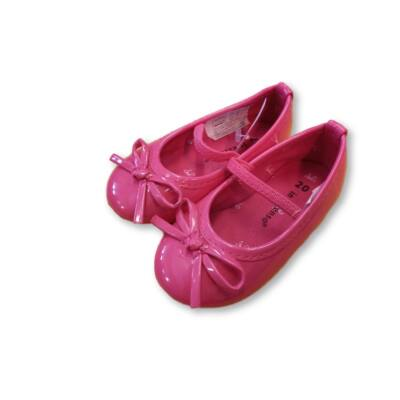 20-as pink lakk pántos balerinacipő - In Extenso - ÚJ