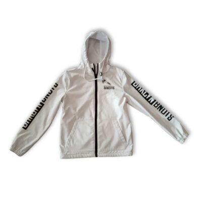 Férfi S-es fehér átmeneti kabát - Fishbone