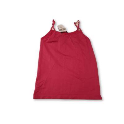 Női L/XL-es pink pántos sztreccs póló - Atmoshpere