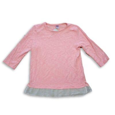 158-164-es rózsaszín pulóver - F&F