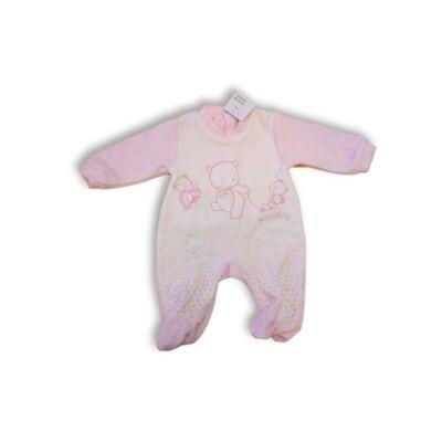 62-es rózsaszín-fehér plüss rugi