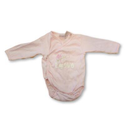 68-as rózsaszín átlapolós body - Ergee
