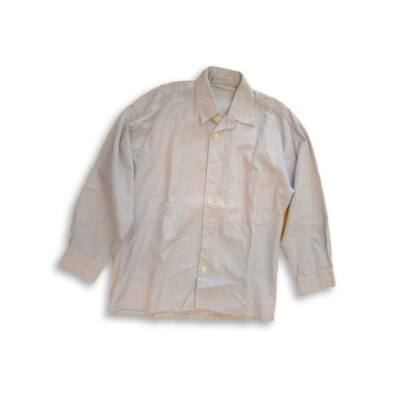 122-es kék-fehér csíkos hosszú ujjú ing