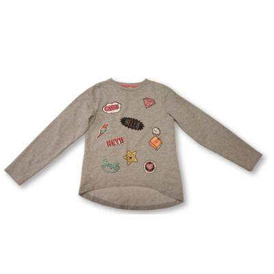 146-152-es szürke lány pulóver - Pepco
