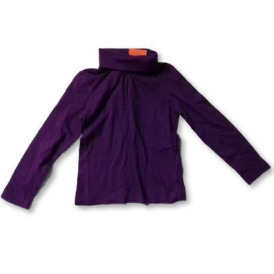 116-os lila garbónyakú pamutfelső - Lupilu