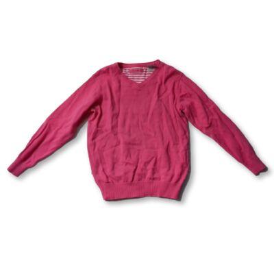 110-116-os rózsaszín fiú kötött pulóver - Okaidi