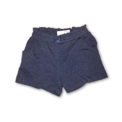 110-116-os kék lány pamutshort - H&M