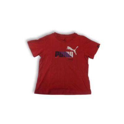 128-as piros fiú póló - Puma
