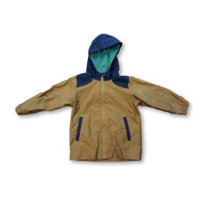86-92-es barna-kék átmeneti kabát - Decathlon