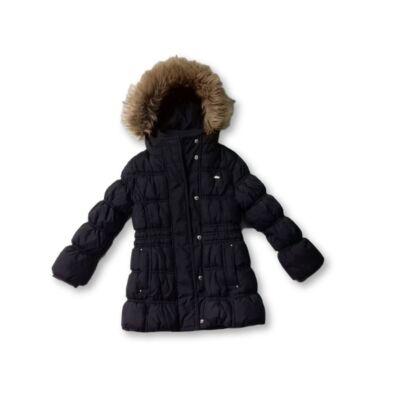92-es barna lány téli kabát - C&A