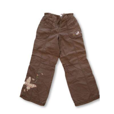 128-as barna hímzett pamut bélésű nadrág - Next