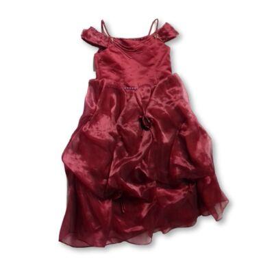 104-110-es bordó alkalmi ruha - Maggie Bridal