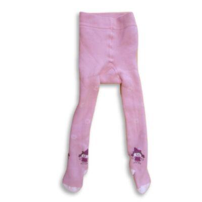 74-es rózsaszín vastag bélelt harisnya - Alive