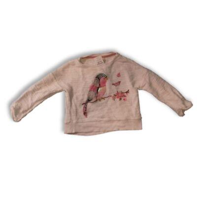86-os fehér madaras pulóver - F&F