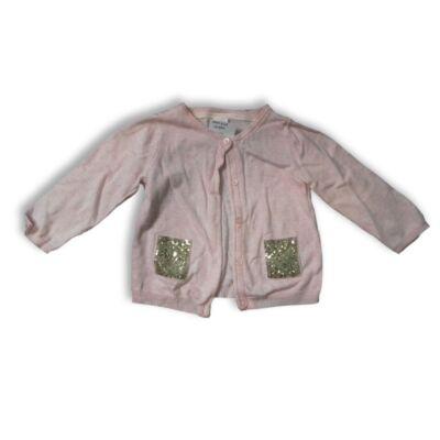80-as rózsaszín kötött kardigán - H&M