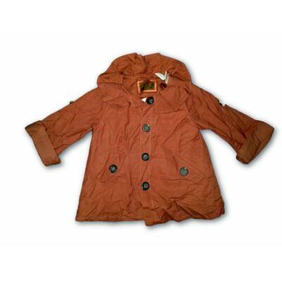 92-es barna átmeneti lány kabát - Zara - ÚJ