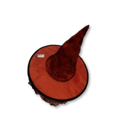 Piros-fekete boszorkánykalap - ÚJ