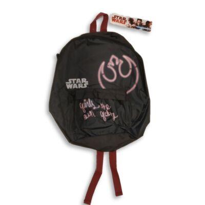 Fekete-rózsaszín hátizsák - Star Wars - ÚJ