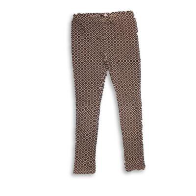 140-es fekete-fehér mintás leggings - In Extenso