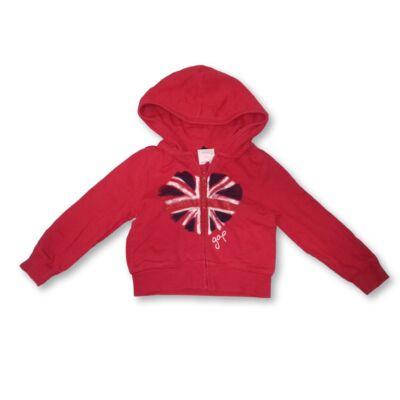 86-92-es piros csillogó angol zászlós kardigán - GAP