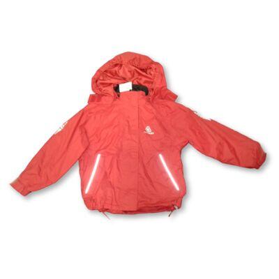 110-es piros vékony átmeneti kabát, esőkabát - Icepak