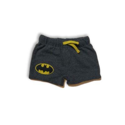 62-68-as szürke pamut short - Batman