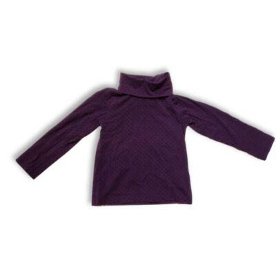 98-104-es lila pöttyös pamutfelső - H&M