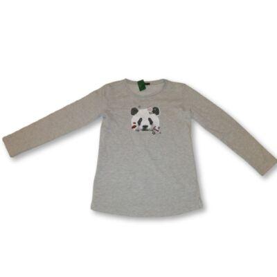 152-es szürke pandás ruha - In Extenso