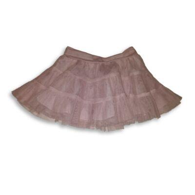 80-86-os rózsaszín tüll szoknya