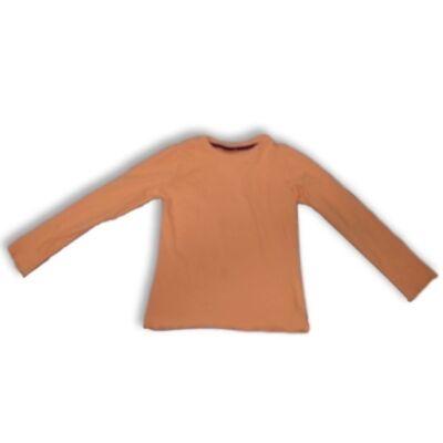 110-116-os narancssárga pamutfelső lánynak - Impidimpi