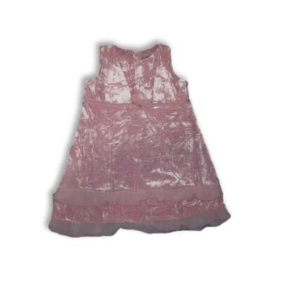 92-es rózsaszín tükörbársony alkalmi ruha - Next