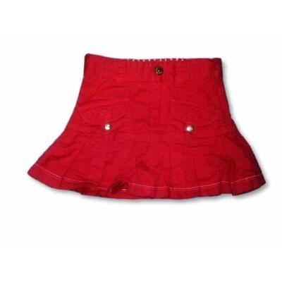 86-os piros farmervászon szoknya - Tik & Tak