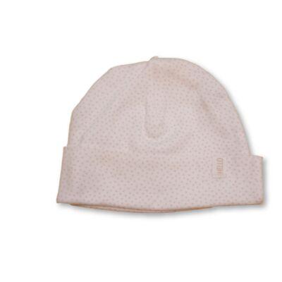 Fehér-rózsaszín pöttyös pamutsapka - H&M