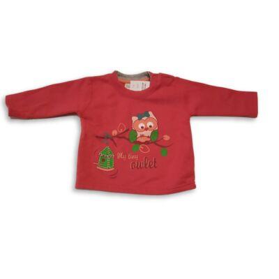 68-as pink baglyos pulóver - Ergee